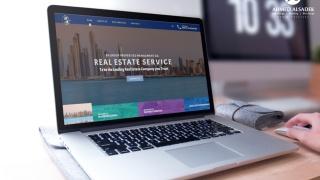 تصميم موقع الكتروني لشركة بى اتش جروب للتسويق العقارى في الإمارات - أبوظبي